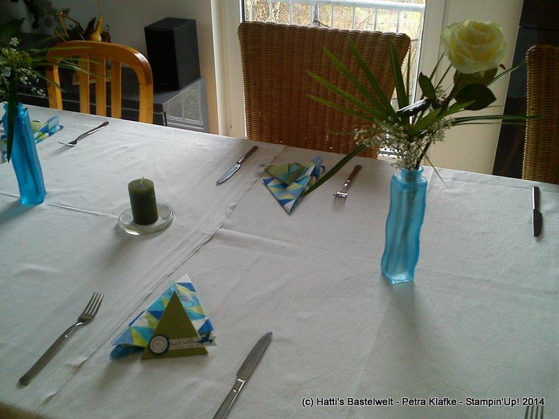 Tischdeko Firmung
