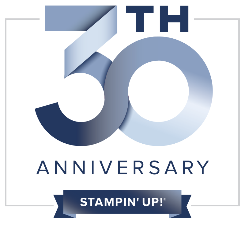 STAMPIN UP 30YR LOGO COLOR