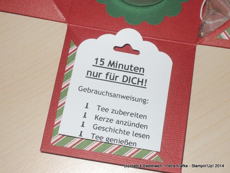 15 Minuten Weihnachten Anleitung.15 Minuten Advent